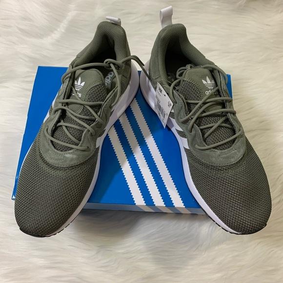 adidas green shoes men